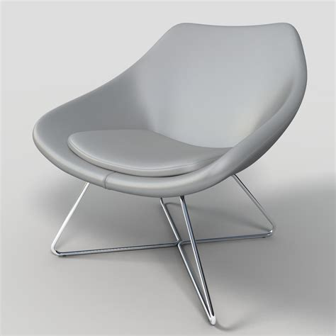 max allermuir open lounge chair
