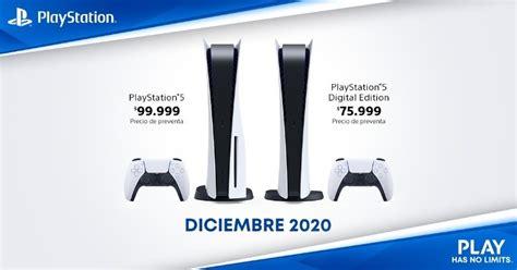 playstation cuanto costara la nueva consola de sony en