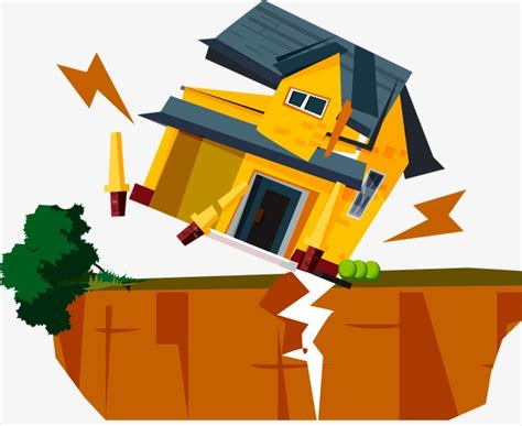 Earthquake Building Collapse, Earthquake, Houses, Collapse Png And Vector For Free Download