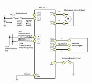 Kia Sportage  4wd Ecu  Schematic Diagrams