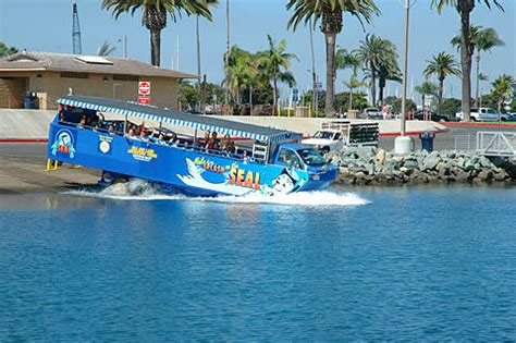 Seal Boat San Diego by See San Diego On Land And Water San Diego Seal Tours