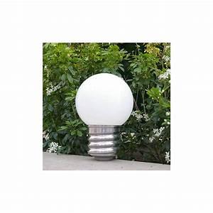 Lampe De Table Exterieur : lampe poser ext rieure basic pm sur secteur basse ~ Teatrodelosmanantiales.com Idées de Décoration