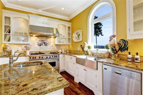 country yellow kitchens 10 beautiful kitchens with yellow walls 2969