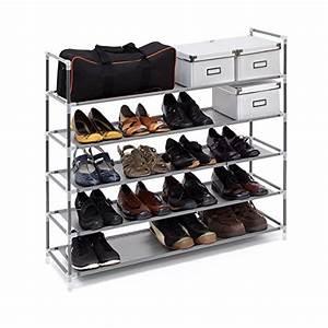 Schuhschrank Für 100 Paar Schuhe : schuhregale aus metall stapelbar f r flur und keller ~ Frokenaadalensverden.com Haus und Dekorationen