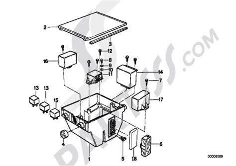 fuse box bmw k100 k100 k589