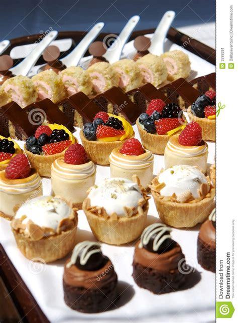 Peach Kitchen Ideas - dessert tray assorted stock image image 3789391