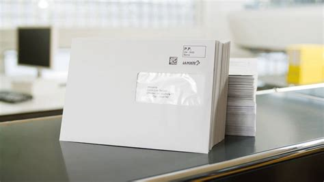 Postage paid impression for mailings - Swiss Post