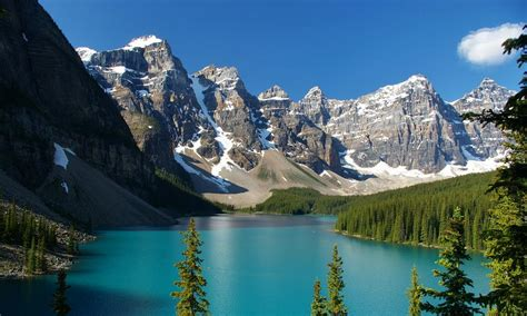 Moraine lake - Kanada - Fotogalerie Digimanie