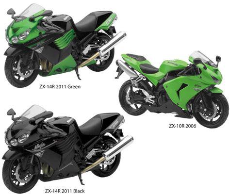 new toys kawasaki zx motorcycle replicas bto sports