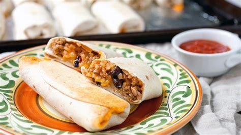 Mini Burrito Snacks Recipe