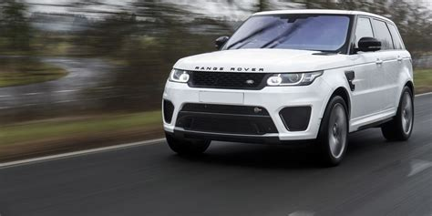 land rover range rover sport svr specifications prices