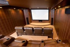 Basement - Home Theater - Traditional - Basement - Other