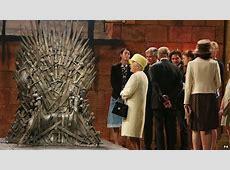 Queen Elizabeth Visits 'Game Of Thrones' Set Video