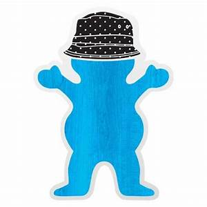 Grizzly Griptape Grizzly Boo Johnson Sticker
