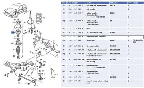 vw golf mk4 parts diagram automotive parts diagram