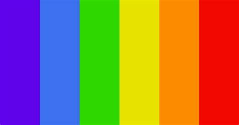 Beautiful Rainbow Color Scheme » Blue » SchemeColor.com