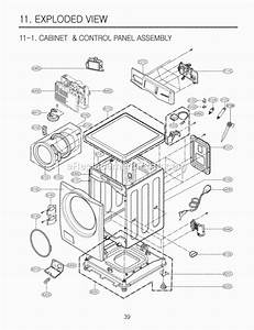 Lg Cw2079cwd Parts List And Diagram