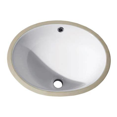 home depot kitchen sinks undermount white avanity undermount bathroom sink in white cum18wt the