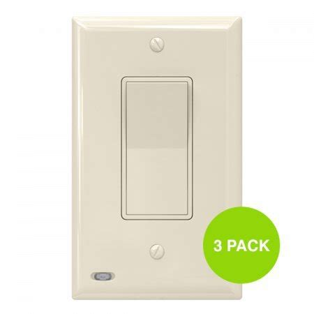 3 pack snappower switchlight led night light for