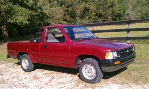 Find Used Red Toyota Tacoma Pickup Ocala Florida