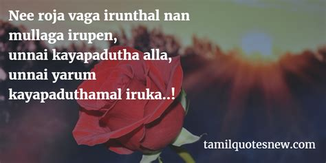 Tamil English Love Quotes