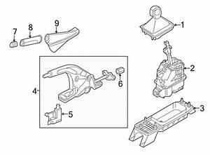 5g1713203kxpr - Automatic Transmission Shift Lever Knob  Components  Console  Center