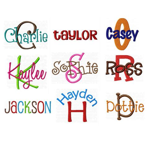 kaylee embroidery font images machine embroidery