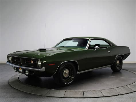 1970 Plymouth Hemi Cuda Classic Muscle G Wallpaper