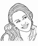 Coloring Pages Teenagers Teen Teenager Tween Teenage Printable Smile Hannah Montana Colouring Template Adults Pdf Templates Popular Coloringhome Library Clipart sketch template