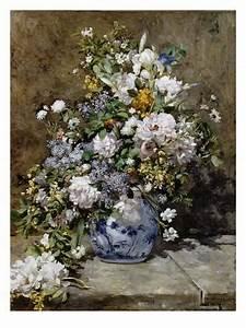 Bouquet De Printemps : reproduction proc d gicl e 39 bouquet de printemps 39 par pierre auguste renoir ~ Melissatoandfro.com Idées de Décoration