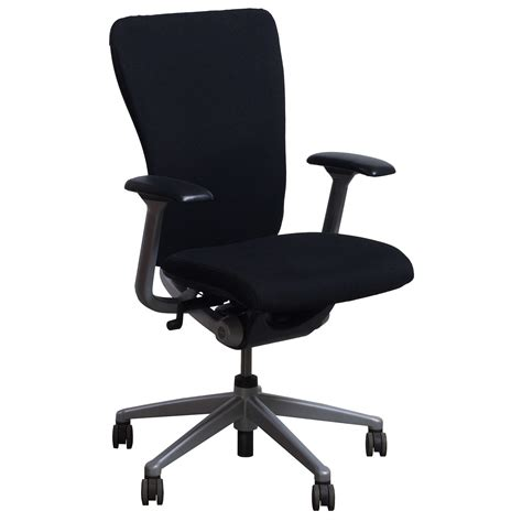 haworth zody used conference chair black national