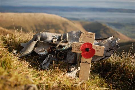Avro Anson Lt741 Air Crash Site On Black Combe Cumbria