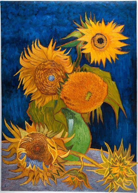 Van Gogh Sunflower Painting Techniques Defendbigbirdcom