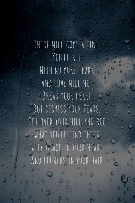 mumford and sons quotes flowers in your hair 17 best after the storm quotes on pinterest storm quotes