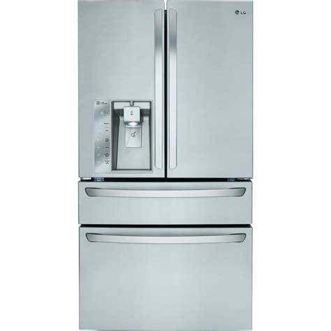 samsung counter depth door refrigerator shop lg 22 7 cu ft 4 door counter depth door