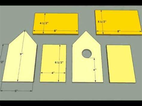 bird house plans simple diy bird house plans youtube
