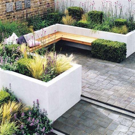built in garden seating design ideas 25 id 233 es pour am 233 nager et d 233 corer un petit jardin