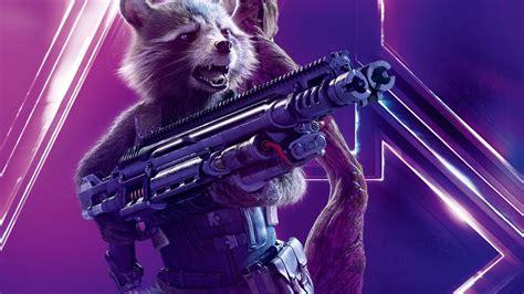 Avengers Infinity War Rocket Raccoon Uhd 8k Wallpaper Pixelz