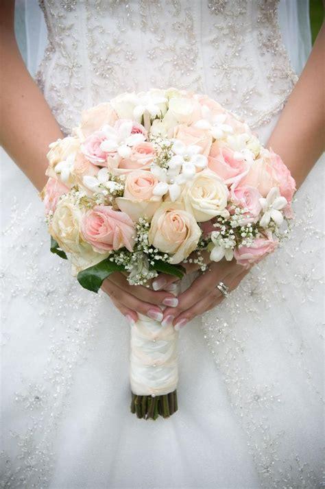pink  white roses bridal bouquet wedding favorites