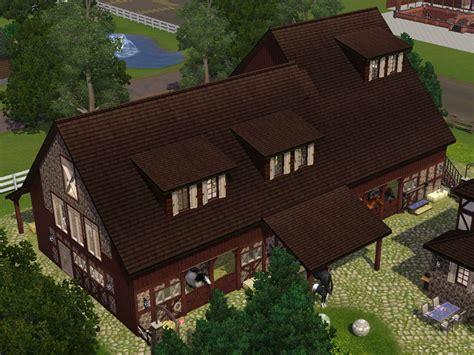 sims 3 loft bauen styled loft in an haymow farm lot for sims 3