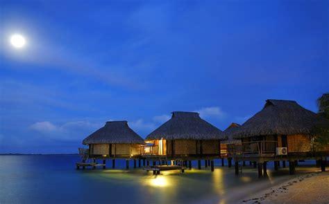Nature, Landscape, Beach, Resort, Water, Bungalow, Sea