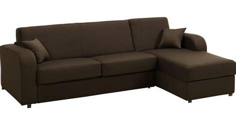 canapé d angle tissu marron canapé d angle rapido convertible tissu marron déhoussable