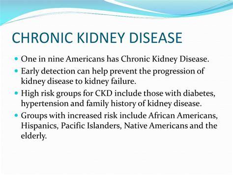 chronic kidney disease diet ppt