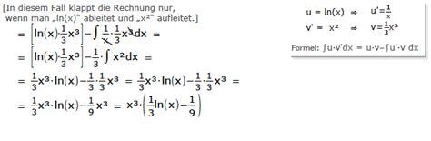 stammfunktion bilden flaeche berechnen integral bilden