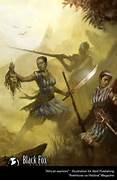 African Warrior Art Re...