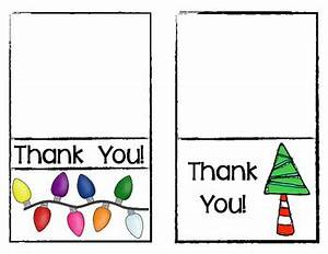 FREEBIE Christmas Thank You Cards for Teachers by Class