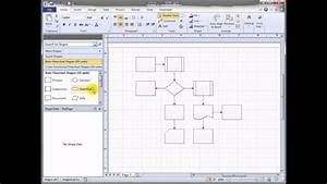 Shift Visio 2010 Flowchart Shapes Automatically