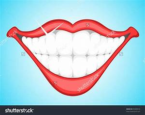 smiling teeth clipart - Clipground