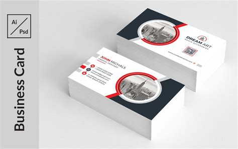 pin  business card design templates