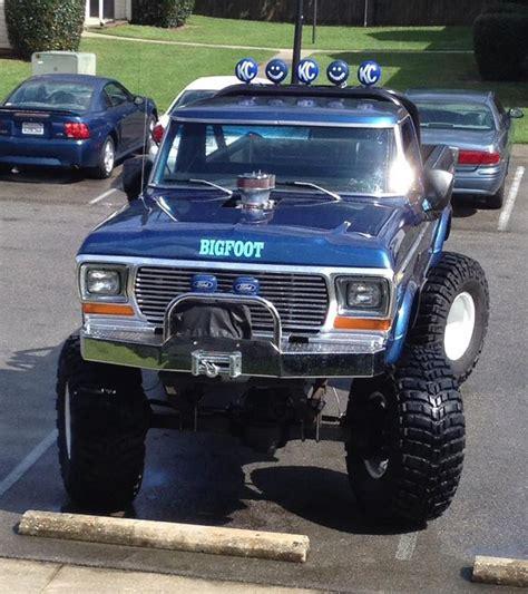 1979 bigfoot monster truck ford bigfoot pickup truck wishlist lol pinterest